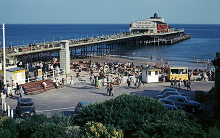 Bournemouth Pier ca 1965, Hampshire © Ronald Searle